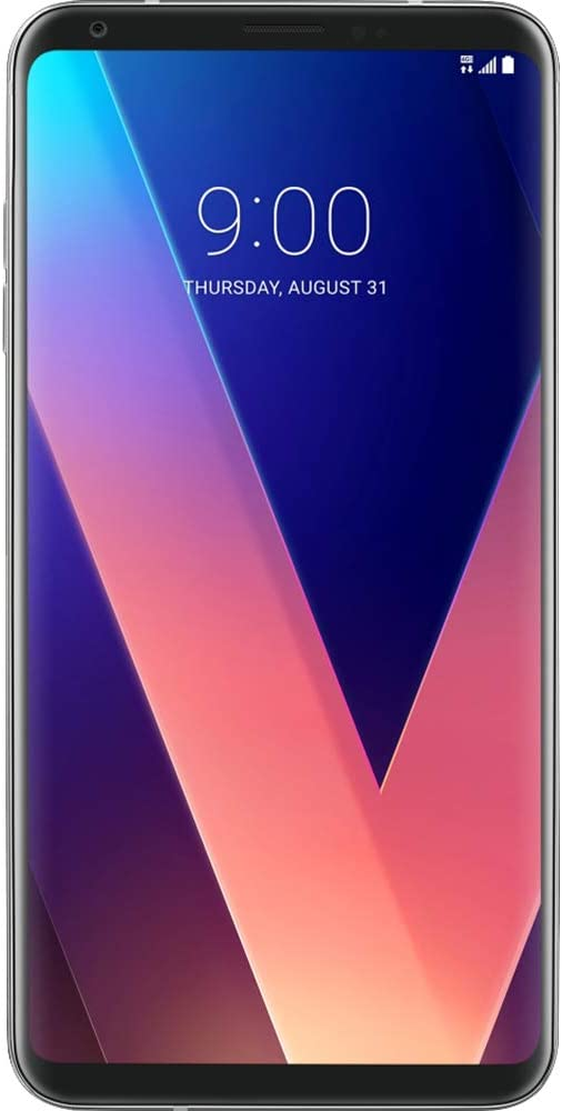 LG V30 64GB H932 T-Mobile 4G LTE Android Smartphone Silver (Renewed)