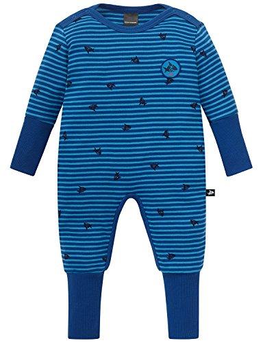 Schiesser Baby-Jungen Zweiteiliger Schlafanzug Capt´N Sharky Anzug mit Vario, Blau (Blau 800), 92 (Herstellergröße: 092)