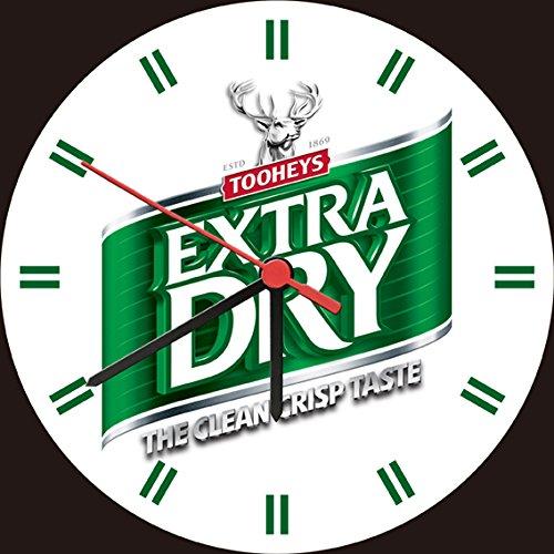 tooheys-extra-dry-beer-cold-taste-wall-clock