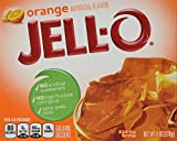 JELL-O Gelatin Dessert, Orange, 6-Ounce Boxes (Pack of 6)