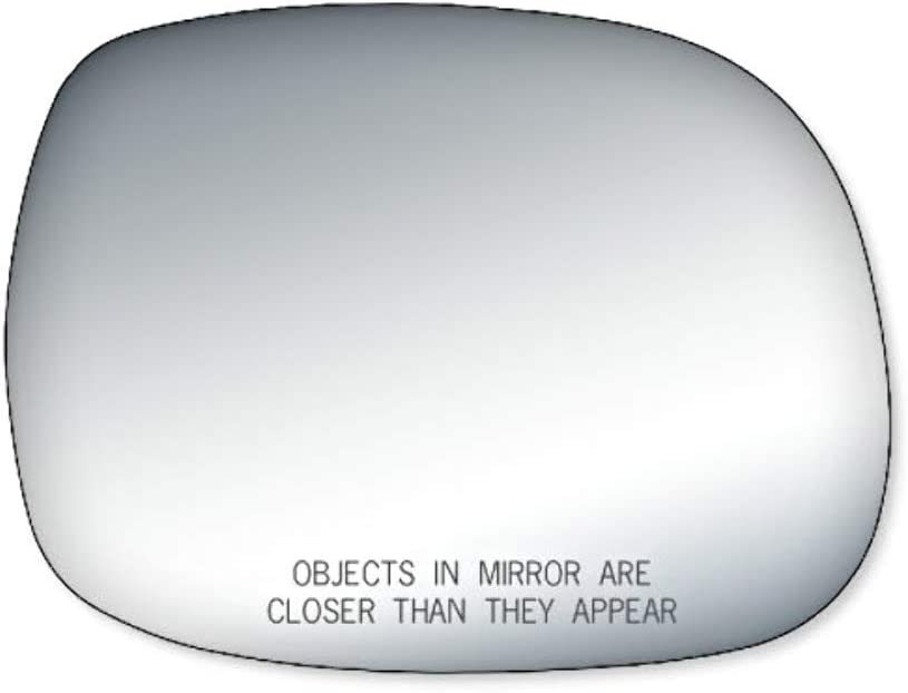 K Source Fits 00-06 Tundra 01-07 Sequoia Right Passenger Mirror Glass Lens w//Silicone