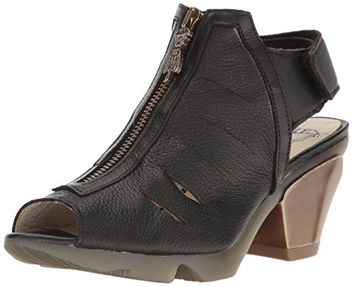 Fly London Mujeres Onie988fly Mule Black Mousse