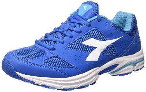 Diadora Shape 4 - Sneakers Unisex adulto Azul oscuro y blanco