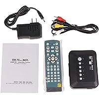 AIWE TV BOX 1080P HD USB HDMI SD/MMC Multi TV Media Player RMVB MKV with Remote controller HD Movie Player US PLUG