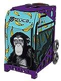 Zuca Monkey Business Sport Insert Bag with Sport Frame (Purple) For Sale