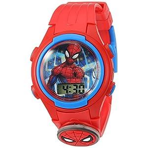 Marvel Boy's Quartz Plastic Casual Watch, Color:Red (Model: SPD4452)