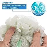 AmazerBath Shower Loofah Sponges, 75g exfoliating