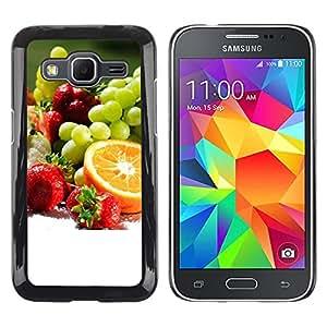 iKiki Tech / Estuche rígido - Fruit Macro Fruit Collection - Samsung Galaxy Core Prime SM-G360