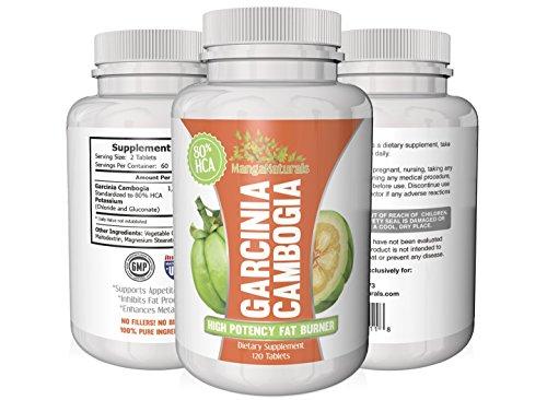 NOUVEAU 80% HCA Garcinia Cambogia Extrait - Pure & Natural Weight Loss Supplement - Plus haut Dosage & Best Formula - Entièrement Garunteed par MangaNaturals