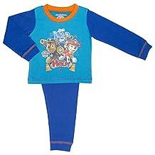 Childs Paw Patrol 'Just Yelp For Help' Boys Pyjama Set, Chase and Marshall, 100%