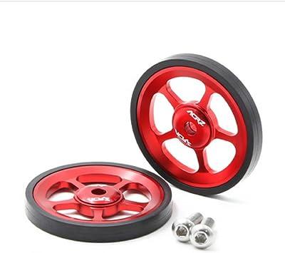 ACRZ Easywheel - Rueda para Brompton (2 unidades), rojo ...