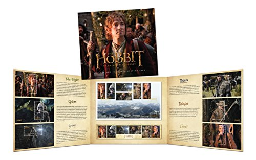 New Zealand Post The Hobbit: An Unexpected Journey 6 Mint Miniature Sheets 6 Self-adhesive Collector Stamps Presentation Pack
