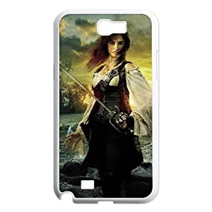 Pirates of the Caribbean Samsung Galaxy N2 7100 Cell Phone Case White K068476