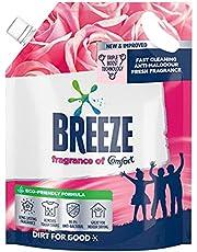 Breeze Liquid Detergent Refill, Fragrance of Comfort