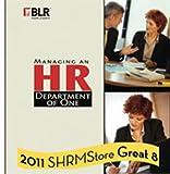Managing an HR Department of One, Susan Schoenfeld, 1556451849