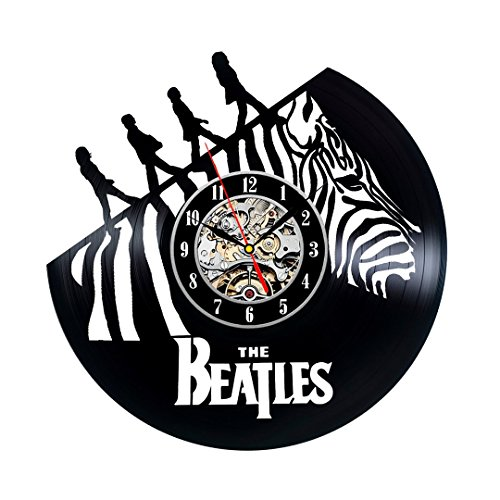 Unique Vintage Design Beatles Vinyl Wall Clock