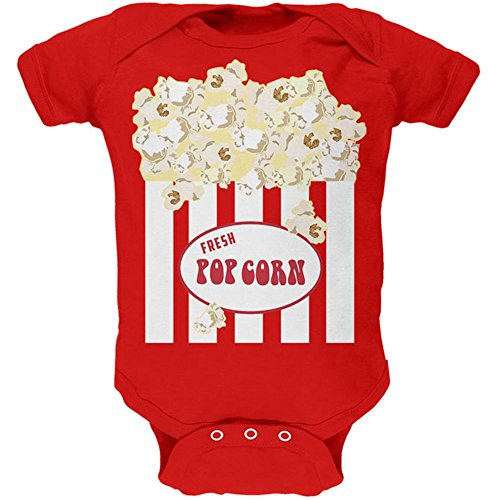 Old Glory Halloween Popcorn Costume Soft Baby One Piece Red 0-3 M for $<!--$16.95-->