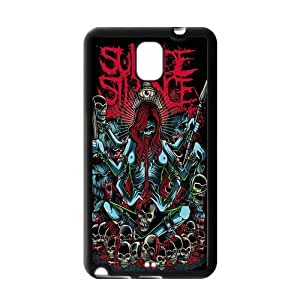 Custom Suicide Silence Snap On Protection TPU Case Cover For Samsung Galaxy Note 3