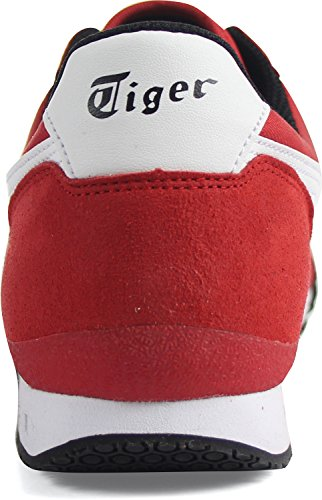 Onitsuka Tiger Unisex Ultimate 81 Red/White Sneaker - 5.5