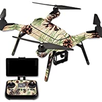 Skin For 3DR Solo Drone – Pine Collage | MightySkins Protective, Durable, and Unique Vinyl Decal wrap cover | Easy To Apply, Remove, and Change Styles | Made in the USA