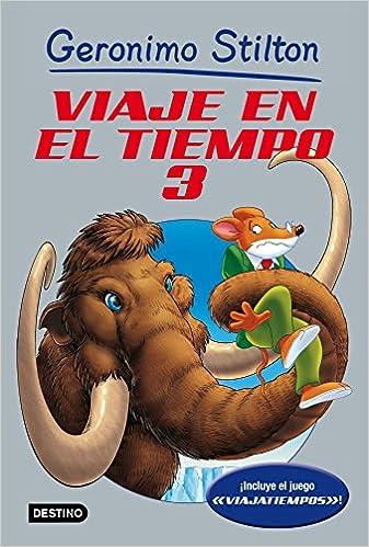 De Tiempo El 3 Viaje Geronimo Libros Especiales StiltonAmazon En PkZiuX