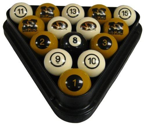 - Wave 7 Technologies Mizzou Billiard Ball Set - NUMBERED