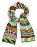 Solmate Scarf, USA Made with Soft Recycled Cotton Yarns, September Sun
