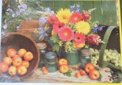 KodaFarbe - Fruitful Bounty -500 Piece Puzzle by Rosa Rosa Rosa Art 36d2df