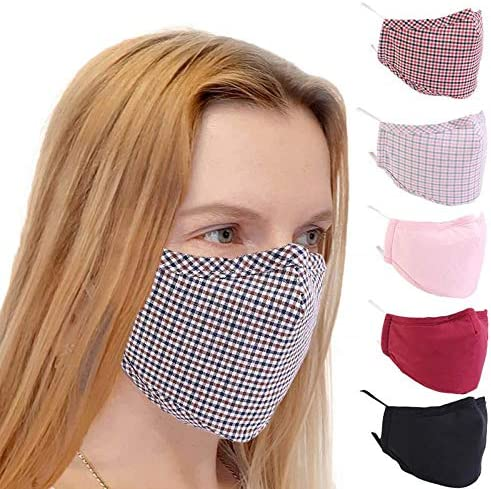 Arbougstg Unisex Mouth Cloth Cover Washable and Reusable Breathable Fashion Protective Tool Dust Cotton Mouth Nose Care