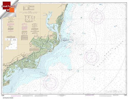 (Paradise Cay Publications NOAA Chart 11531: Winyah Bay to Bulls Bay 21.00 x 27.29 (SMALL FORMAT WATERPROOF))