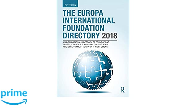 a49f5adafe Amazon.com  The Europa International Foundation Directory 2018 ...