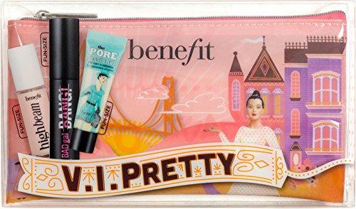 Benefit Cosmetics Lot 4pc 2018 Bag, Bad Gal Bang, High Beam,
