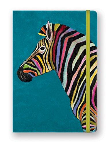 Studio Oh! DK002 Compact Deconstructed Journal, Rainbow Zebra
