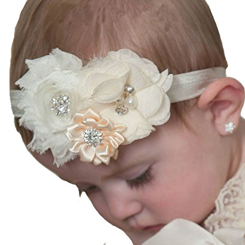 Price comparison product image Miugle Baby Girl Shabby Chic Headbands and Bows