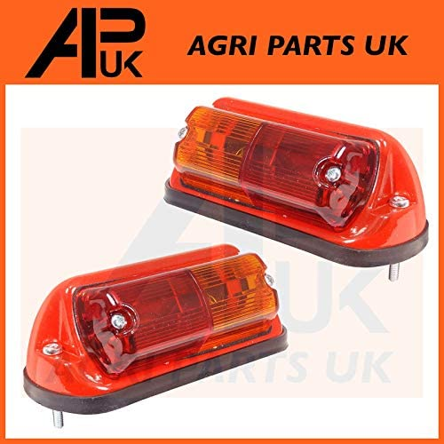 APUK Flexible LED Flashing Beacon Compatible with Ford New Holland John Deere Massey Ferguson Tractor