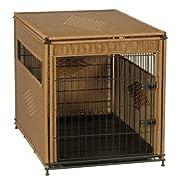 Amazon Lightning Deal 80% claimed: Mr. Herzher's 13502 Extra Large Pet Residence Dark Brown
