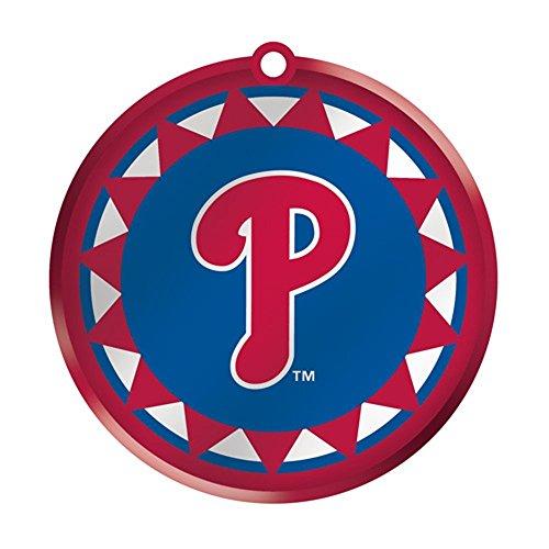 - MLB Blown Glass Logo Disc Ornament MLB Team: Philadelphia Phillies