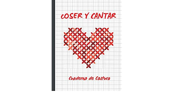 COSER Y CANTAR: CUADERNO DE COSTURA | PAPEL PAUTADO PARA TEJER ...