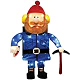 Product Works 24-Inch 3D Pre-Lit Yukon Cornelius Christmas Yard Decoration, 50 Lights