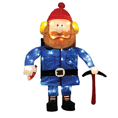 ProductWorks 24-Inch 3D Pre-Lit Yukon Cornelius Christmas...
