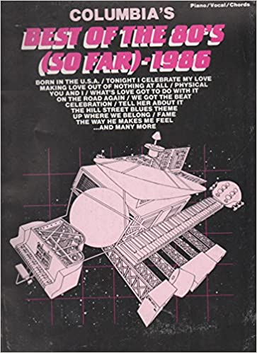 Columbias Best Of The 80s So Far Pianovocalchords Various