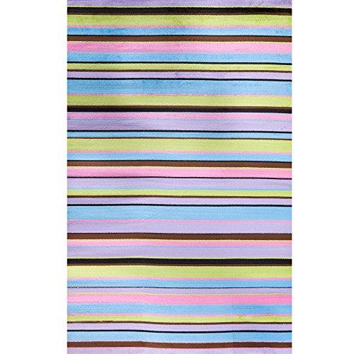Alisa Stripes Kids Rug Rug Size: 3'4