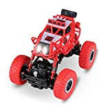 Stanbow Remote Control Car, 1:43 Scale Electric RC Racing Car, Off Road 4WD High Speed 2.4Ghz Radio Control Monster Truck, Kids Toys Vehicle Buggy Hobby, Gifts for Kids (Batteries Not Included)