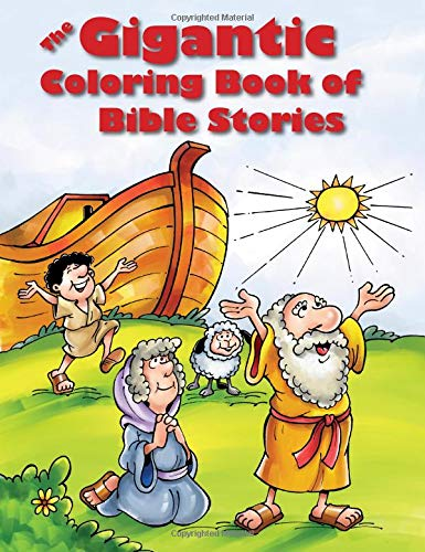 The Gigantic Coloring Book of Bible Stories -