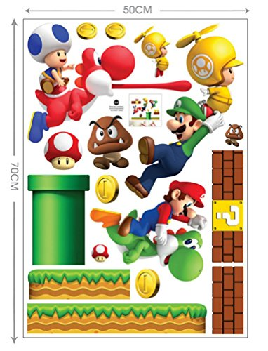 Peel and Stick Wall Decals Stickers for Children & Kids & Ba