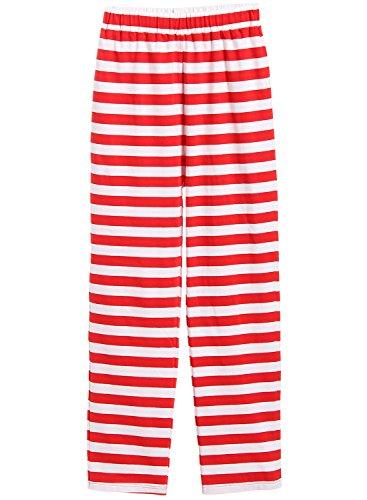 7dfdee8ecf Latuza Women s Christmas Pajamas Set with Top   Striped Pants ...