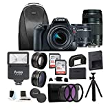 Canon EOS Rebel SL2 Digital Camera with 18-55mm & 75-300mm Lens +...