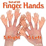 Accoutrements Set of Ten Finger Hands Finger Puppets: more info