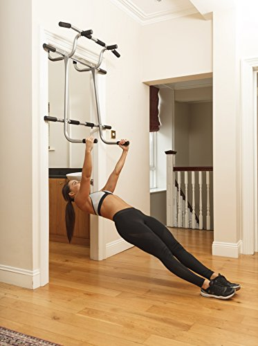 Triple Door Gym Ultimate 3 In 1 Pullup Doorway Bar Total
