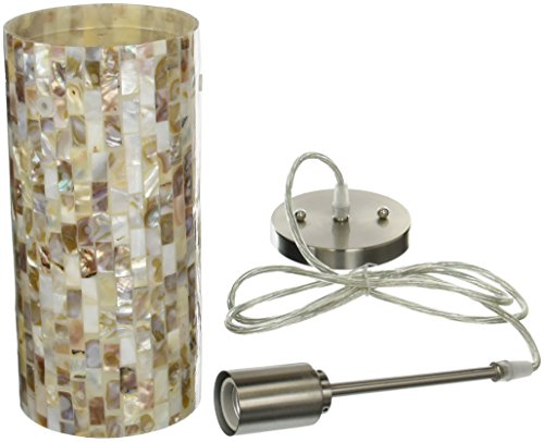 Mosaic Shell Pendant Light in US - 9